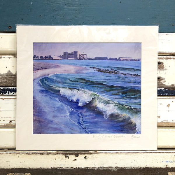 Beresford Beach Art Print