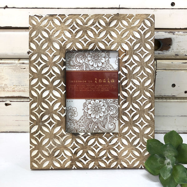 "Coastal Drift Photoframe - 6""x4"""