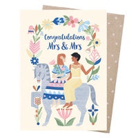 Bridal Abour Card