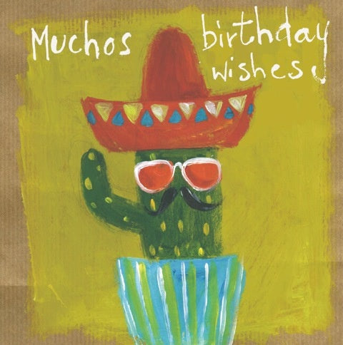 Muchos Birthday Wishes Card