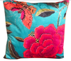 Big Peony Square Cushion