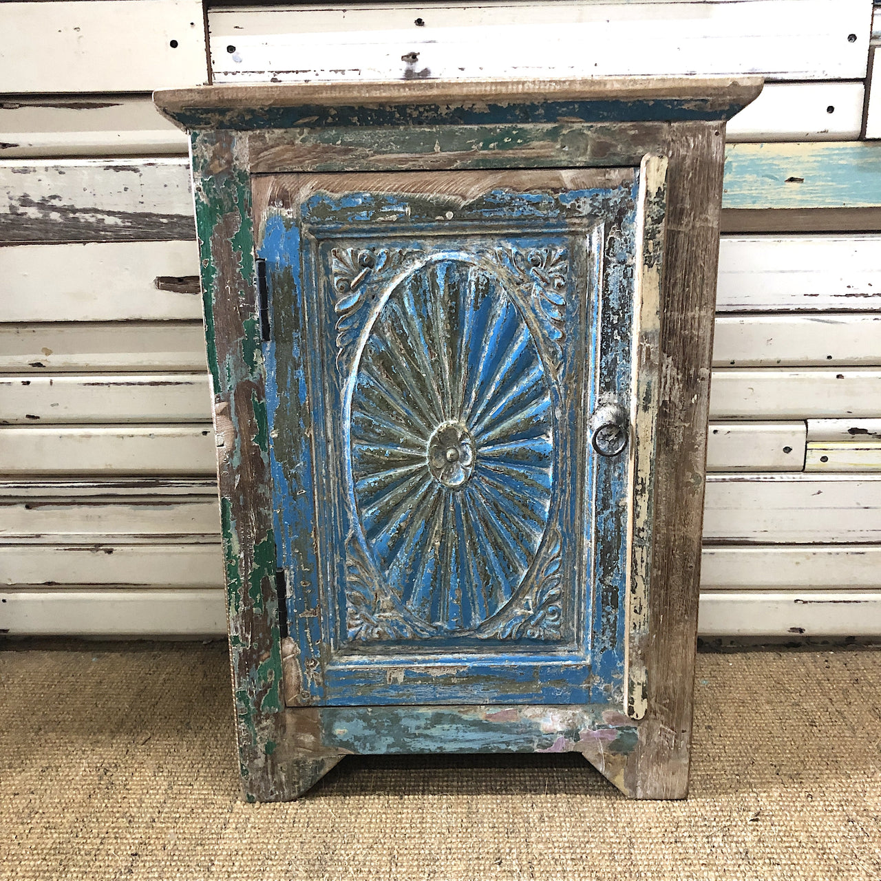 Vintage Blue Mini Cupboard