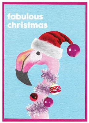 Christmas Cards - Fabulous Flamingo