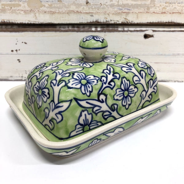 Lime Delight Butter Dish