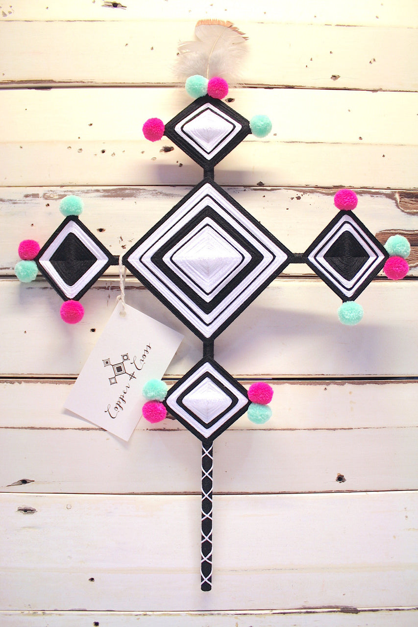 Candy Cross Wall Hanging - WAS $159 - NOW $95.00