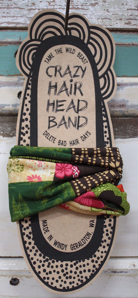 Crazy Hair Head Band - Tropic Hit