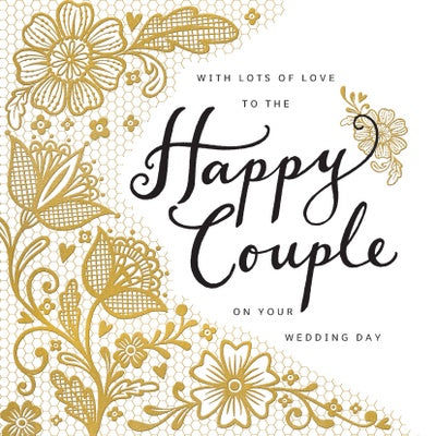 Wedding Card -Happy Couple