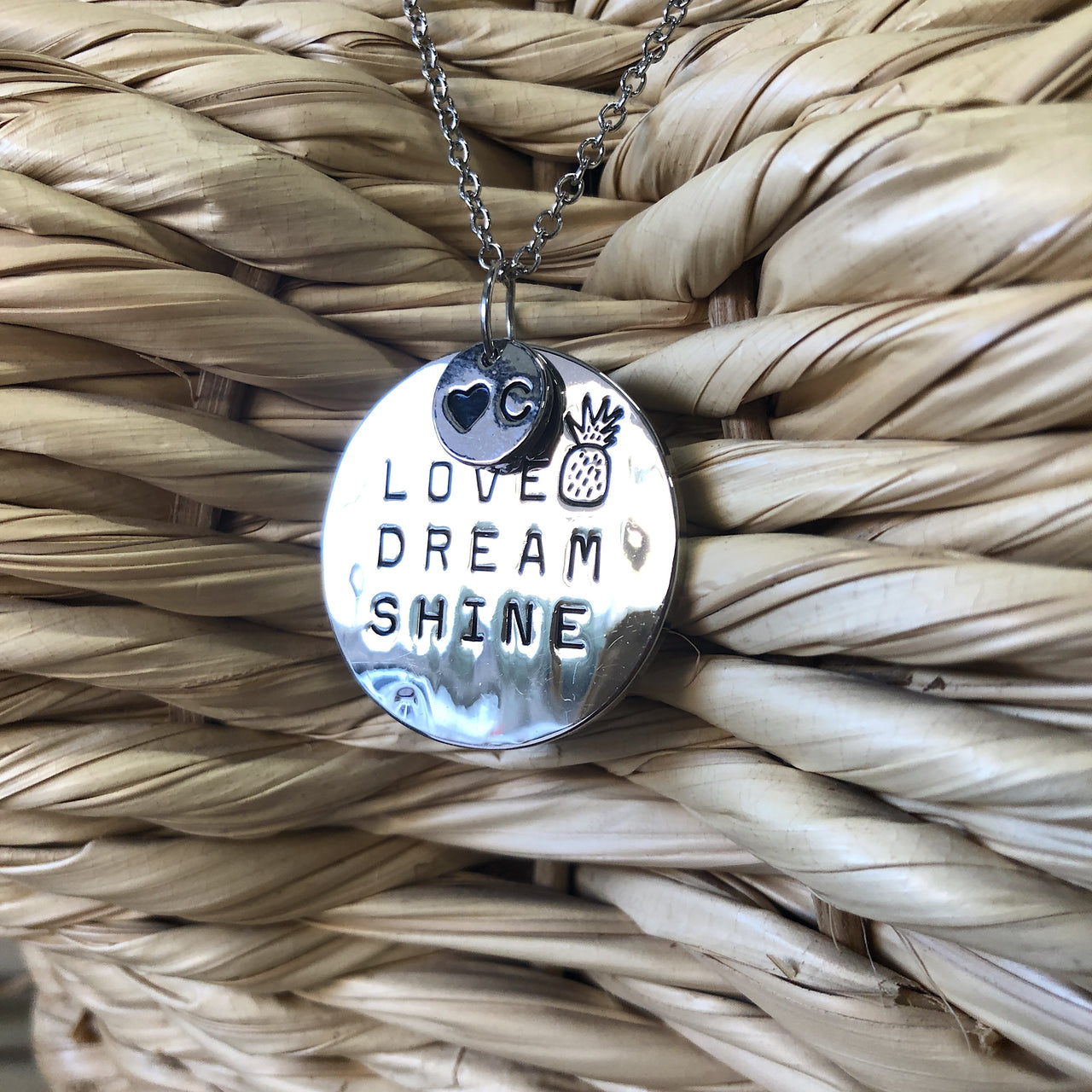 Love Dream Shine Silver Necklace