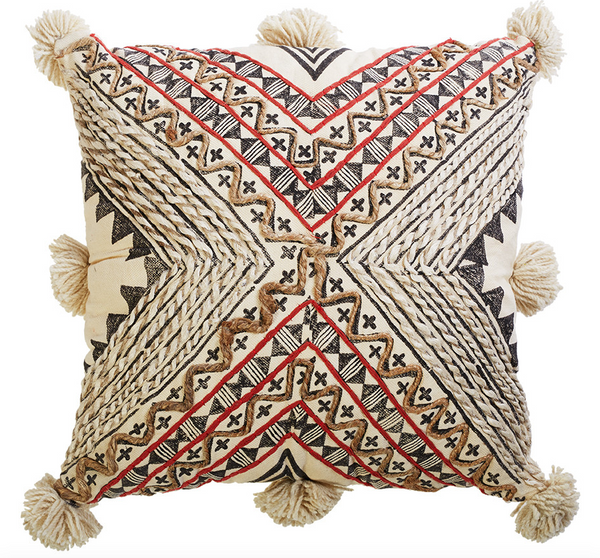 Nomad Village Cushion - WAS $119.95 ~ NOW $71.95