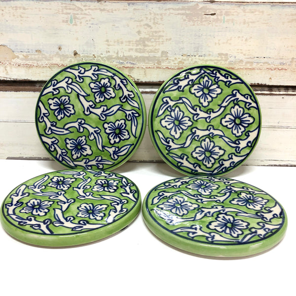 Lime Delight Coasters - Set 4