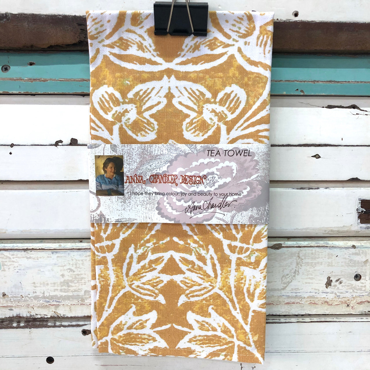 Tea Towel - Spice Islands Tumeric
