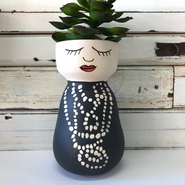Coco Face Vase - Jones & Co
