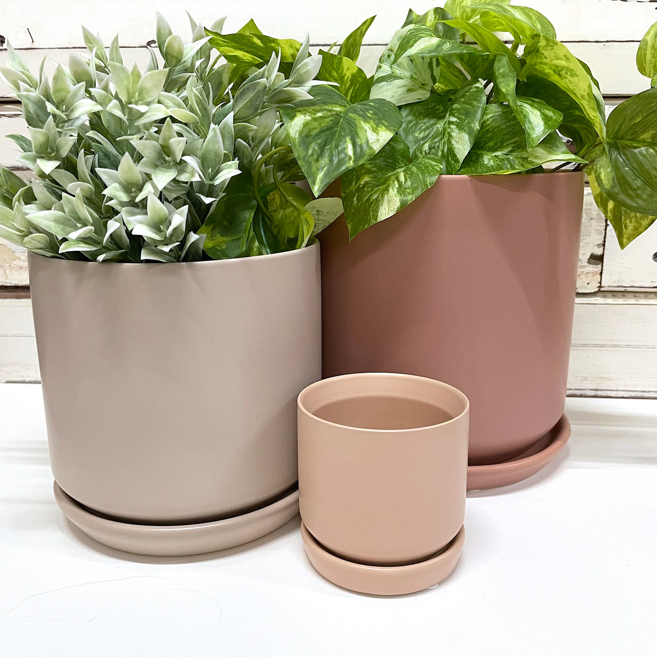 Mini Oslo Planter Peach
