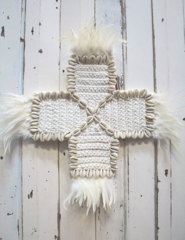 Prema Feather Cross