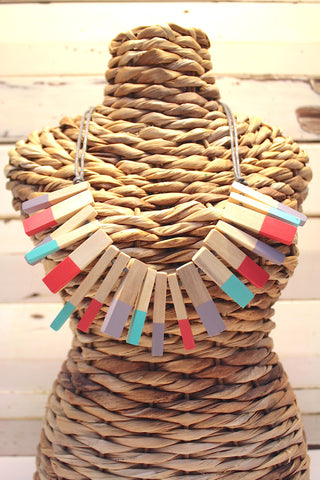 Matchsticks Necklace
