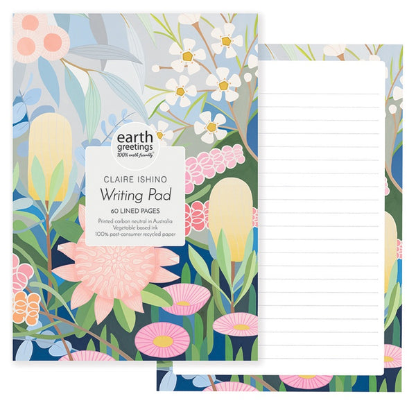 Claire Ishino A5 Writing Pad - All Kinds of Wonder
