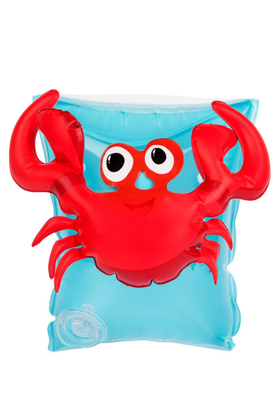 Arm Band Floaties Crab S/2 - WAS $17.95 ~ NOW $10.75