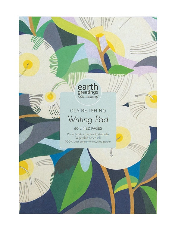 Claire Ishino A5 Writing Pad - Lemon Scented Gum
