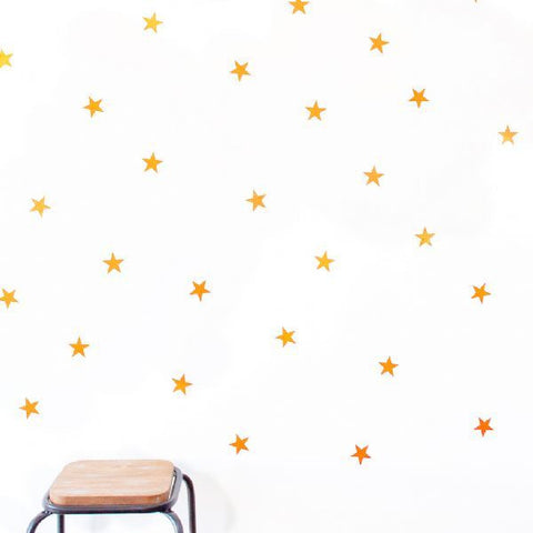 Wall Stickers - Lge Gold Stars