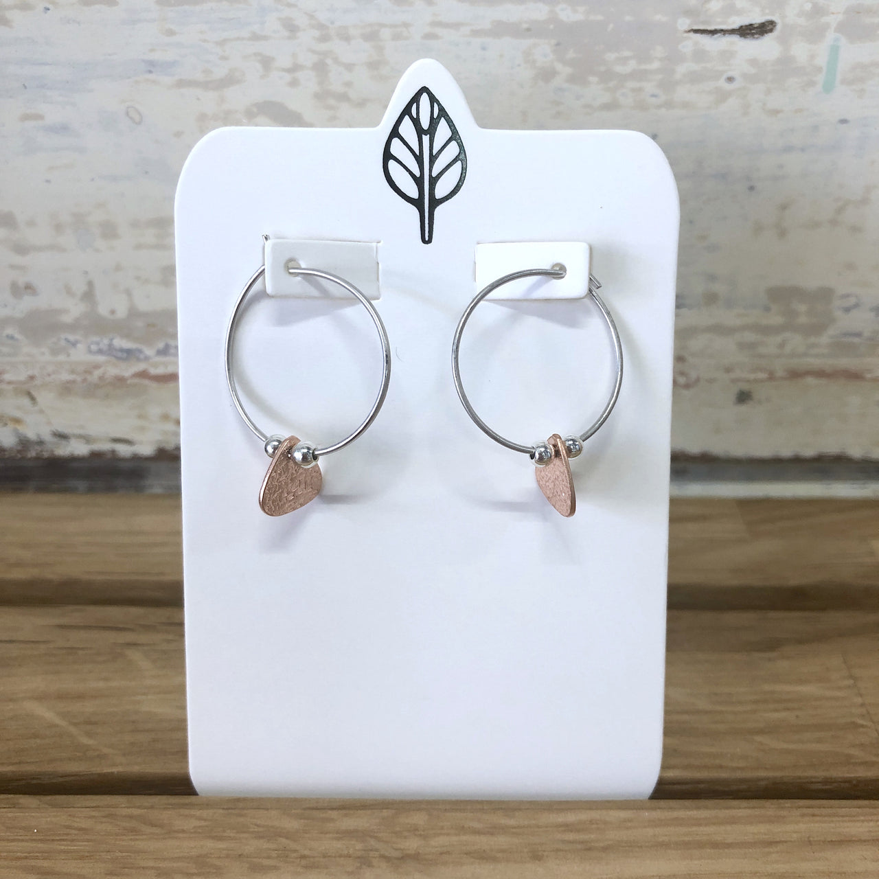 Mini Tri Hoop Earrings