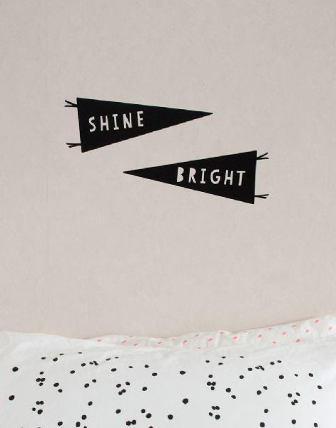 Wall Stickers - Shine Bright ~ WAS $49.95 - NOW $29.95