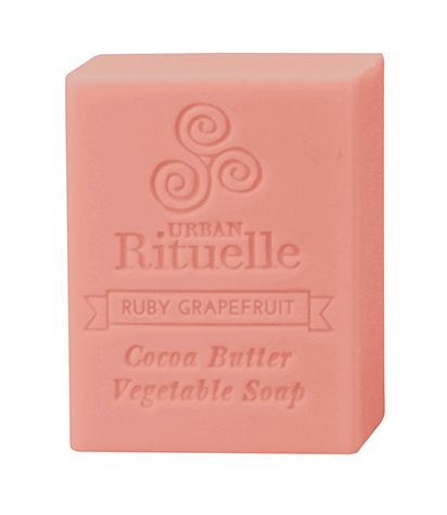 Cocoa Butter Soap - Ruby Red Grapefruit