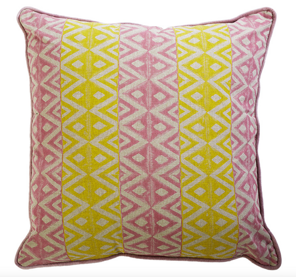 Sunshine Hammos Cushion - Canvas & Sasson
