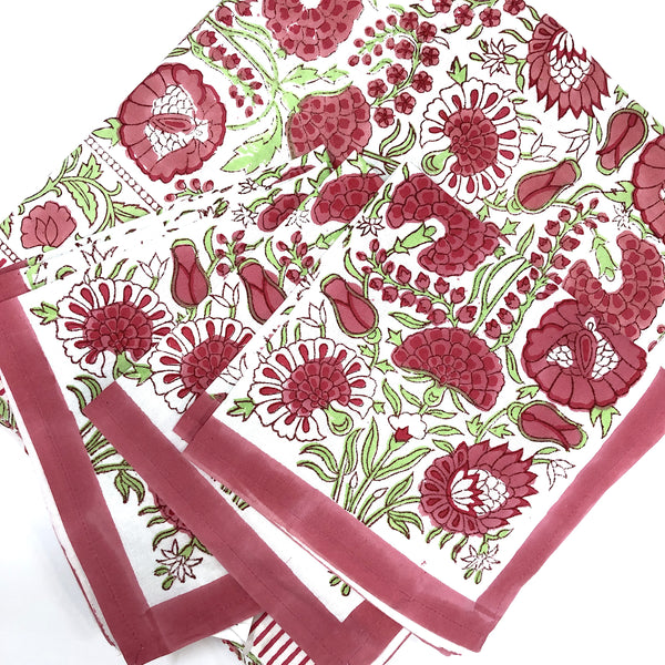 Indian Garden Party Napkins S/4