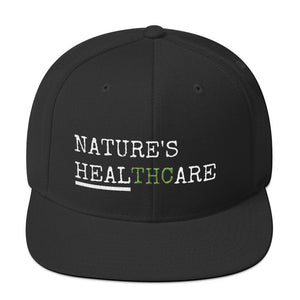 Cannabis Wear, Nature's HealTHCare Snapback Hat