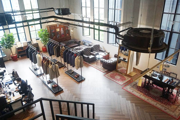 Why men who HATE shopping, LOVE Kevin Seah. The psychology of bespoke