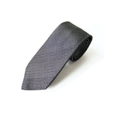 Fresco Tie (White Gray)