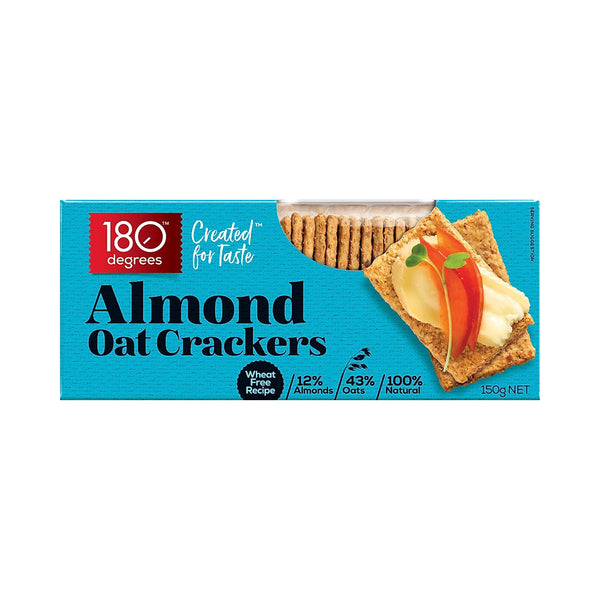 Almond Oat Crackers - 150g