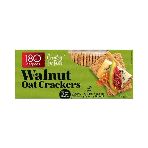 Walnut Oat Crackers - 150g