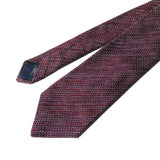 Kasuri Mix Thai Tie (Wine x White)