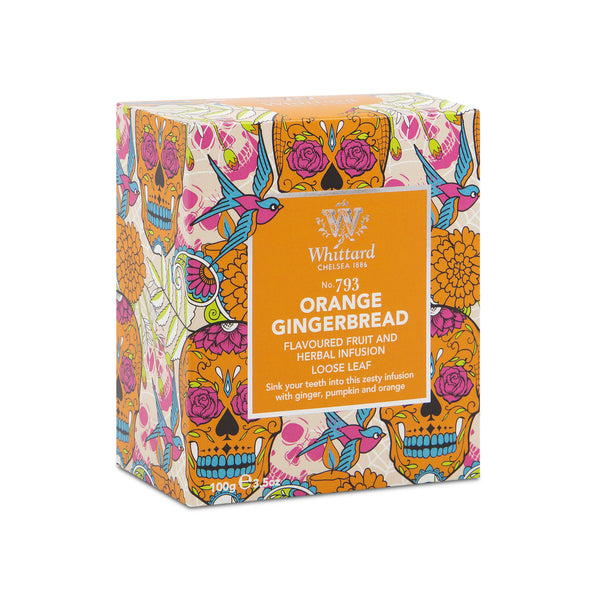 Limited Edition Orange Gingerbread Fruit and Herbal Infusion
