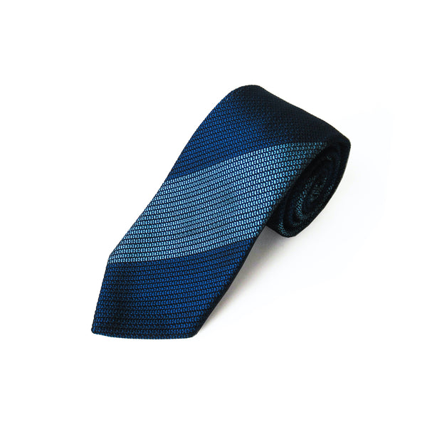 Fresco Regimental Thai Tie (Navy x Saxophone)