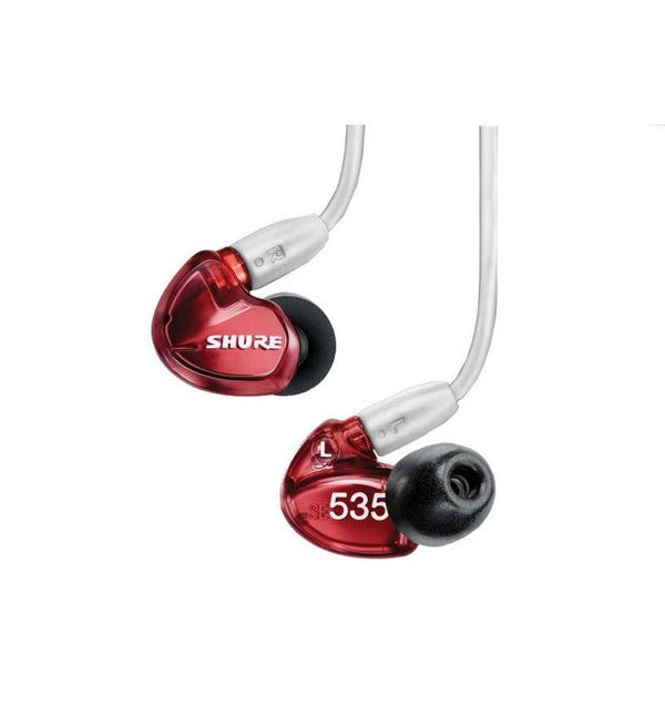 SE535 Sound-Isolating In-Ear Stereo Headphones with 3.5mm Audio Cable (Special Red Edition)