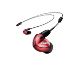 SE535 Sound-Isolating Earphones with 3.5mm Remote/Mic Cable (Special Red Edition)
