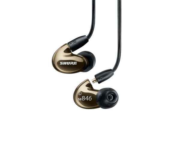 SE846 Sound-Isolating Earphones with Bluetooth 5.0 and Wired Accessory Cables (Bronze)