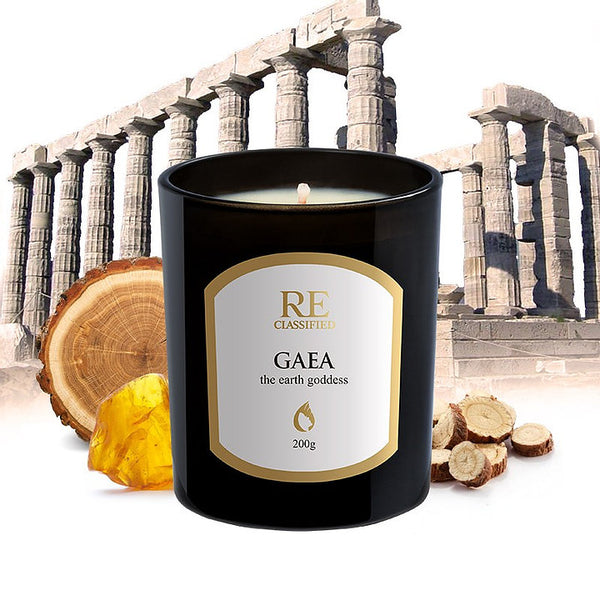 Gaea Scented Candle - Enchanted Collection (200g)