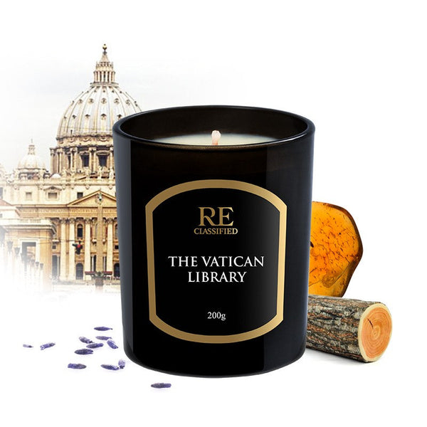 The Vatican Library Scented Candle - Landmark Collection (200g)