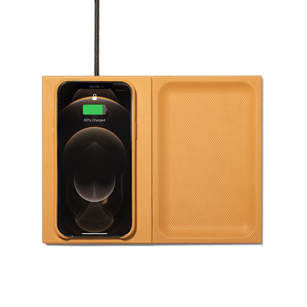 HERITAGE VALET WIRELESS CHARGER - Yellow
