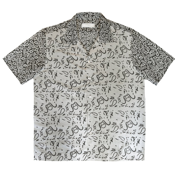 Block Print Short Sleeved Shirt
