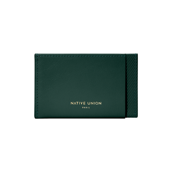 Heritage Card Holder - Dark Green