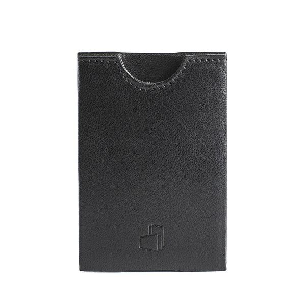 Dublin Black Smooth Leather RFID Card Holder