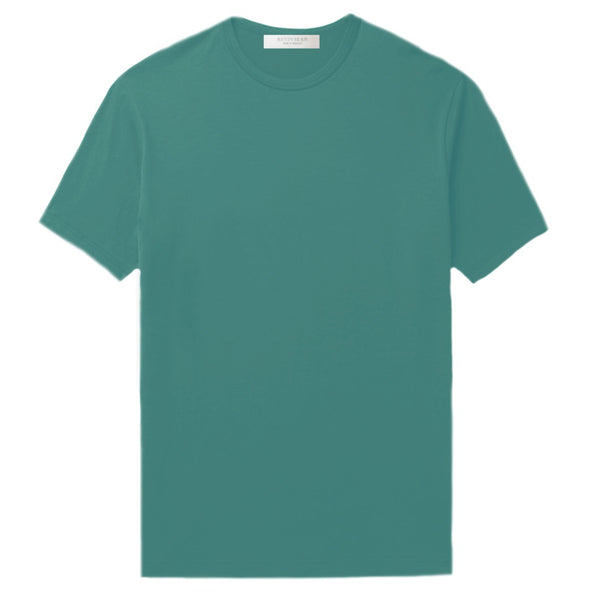 Teal Cotton Jersey T-Shirt (MADE TO ORDER)
