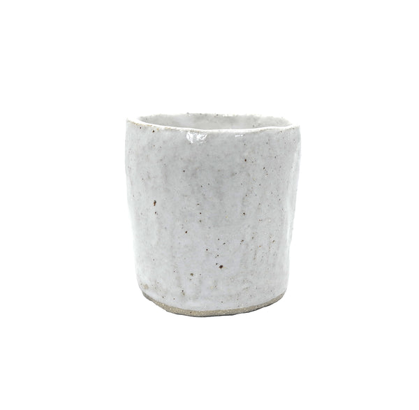 Gloss White Ceramic Tumbler