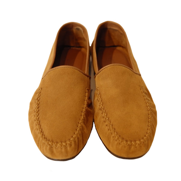 Brown Suede Slipper