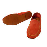 Red Suede Slipper