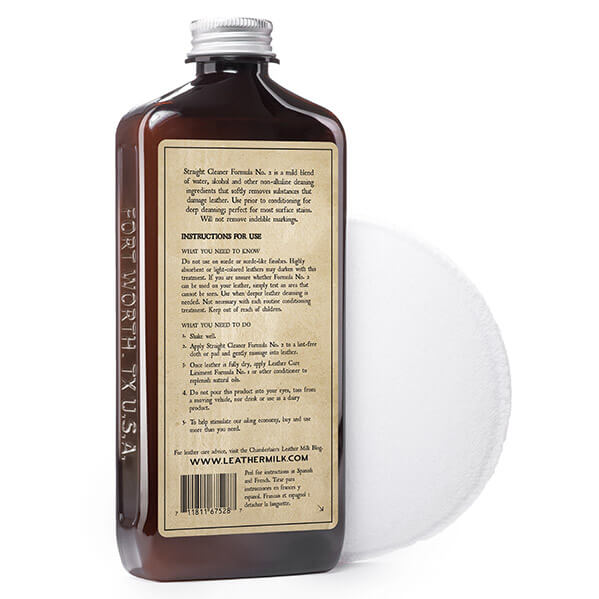 Chamberlain's Leather Milk  Straight Cleaner No. 2  Premium Leather Cleaner